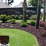 YARDWISE Landscape Rubber Mulch 75 Cu.Ft. Pallet-Mocha Brown Color