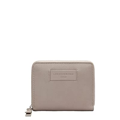 Liebeskind Berlin - Essential Conny Wallet Medium, Carteras Mujer, Gris (String Grey), 3x11x13 cm (B x H T): Zapatos y complementos