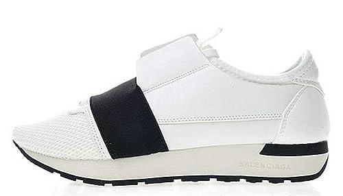 Balenciaga Race Runner Low Top Black Q02533959 Hombre Mujer Zapatos: Amazon.es: Zapatos y complementos