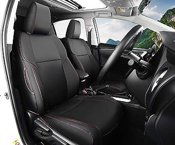 Full set car seat covers fit Toyota Prius black//grey seat cover