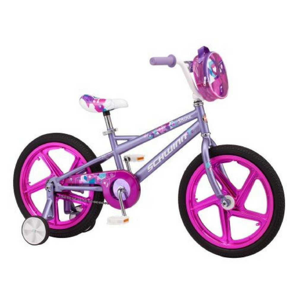 18'' Schwinn Shine Girl's Bike - Purple