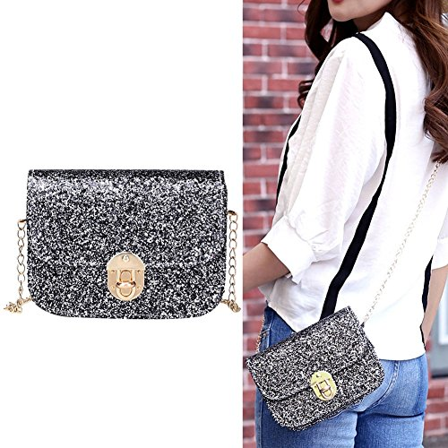 JD Million shop Women Bags Summer Bling Ladies designer handbags high quality chain mini (Mane Bling)