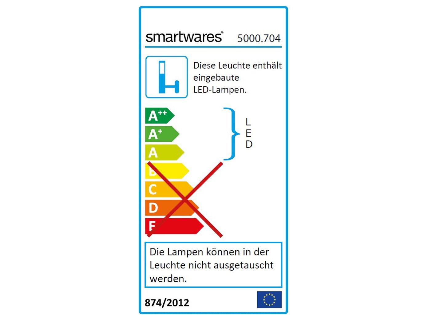 Set: 2 partes placa de timbre color blanco + lámpara LED hogar Números con sensor crepuscular: Amazon.es: Iluminación