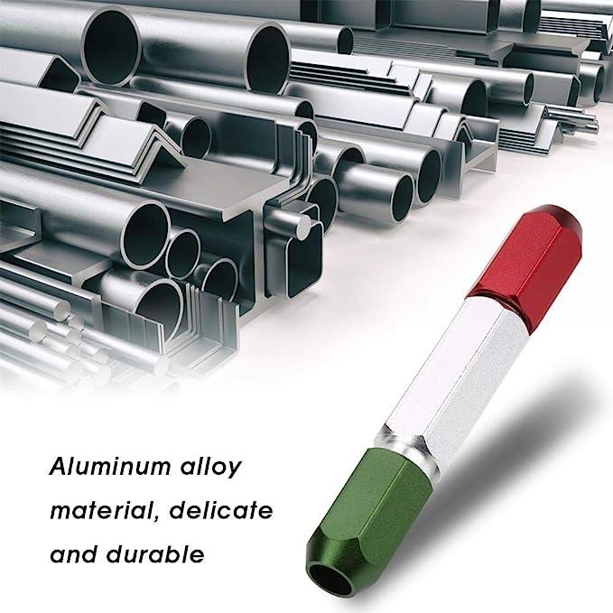 Aluminum Alloy Pin Gage Handle Double End Go No Go Gauge Handle(0.3mm-16mm) 2-3mm