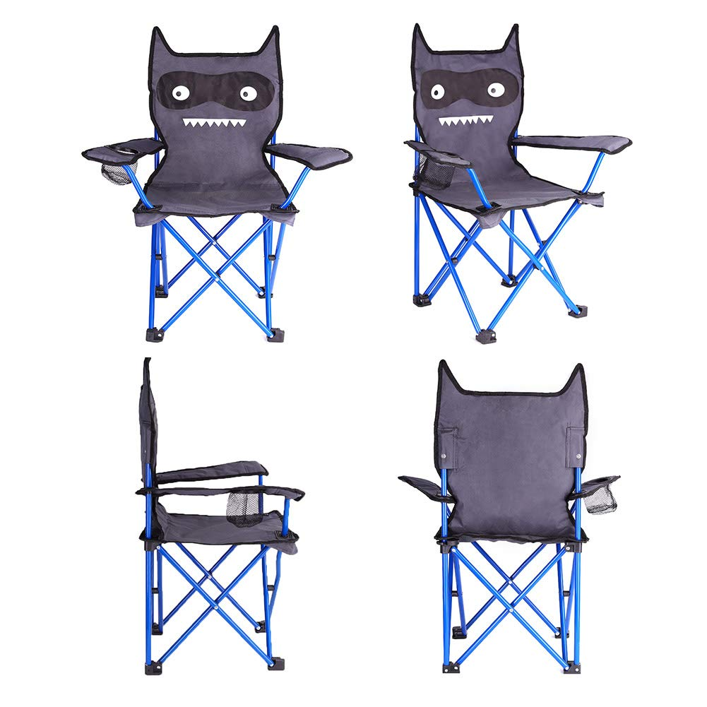 KABOER Kids Outdoor Folding Lawn and Camping Chair with Cup Holder, Little Devil Camp Chair by KABOER (Image #5)
