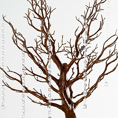 "BalsaCircle 30"" Manzanita Tree with Garlands for Wedding ..."