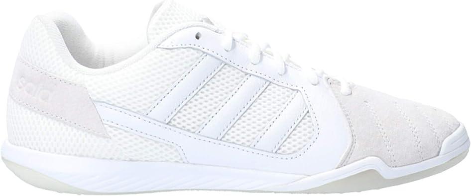 adidas Top Sala Lux, Zapatilla de fútbol Sala, White, Talla 10 UK (44 ...