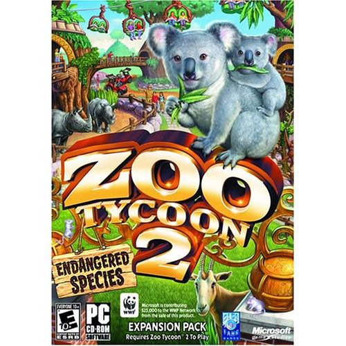 Amazon com: Zoo Tycoon 2 Endangered Species Expansion Pack