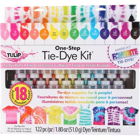 Tulip One Step 18-Color Tie-Dye Kit by Tulip