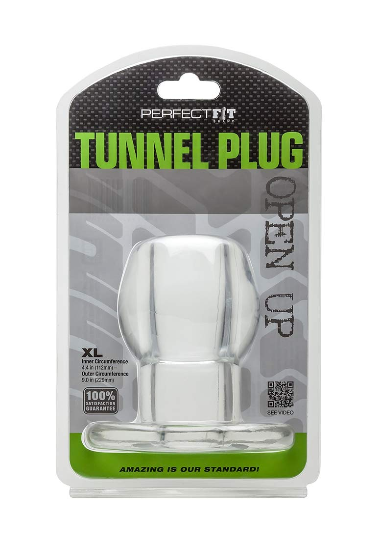 Perfect Fit Extra Large Tunnel Plug, Clear by Perfect Fit (Image #2)
