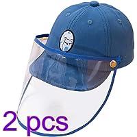 Garneck 2 Piezas Niños Sombrero Protector Visera Cara
