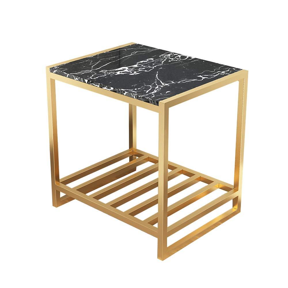 Mesa de café, de una sola capa de mármol del marco encimera en ...