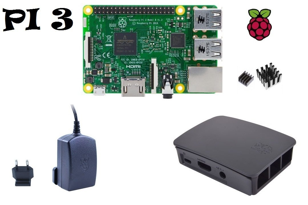 Kit de arranque para Raspberry Pi 3 Model B versión de Reino Unido Set 1: Amazon.es: Informática