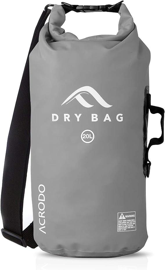 2//5//10//20//30L Waterproof  Dry Bag Sack Beach Kayak Sailing Swimming  Backpack