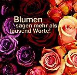 img - for Blumen sagen mehr als tausend Worte. book / textbook / text book