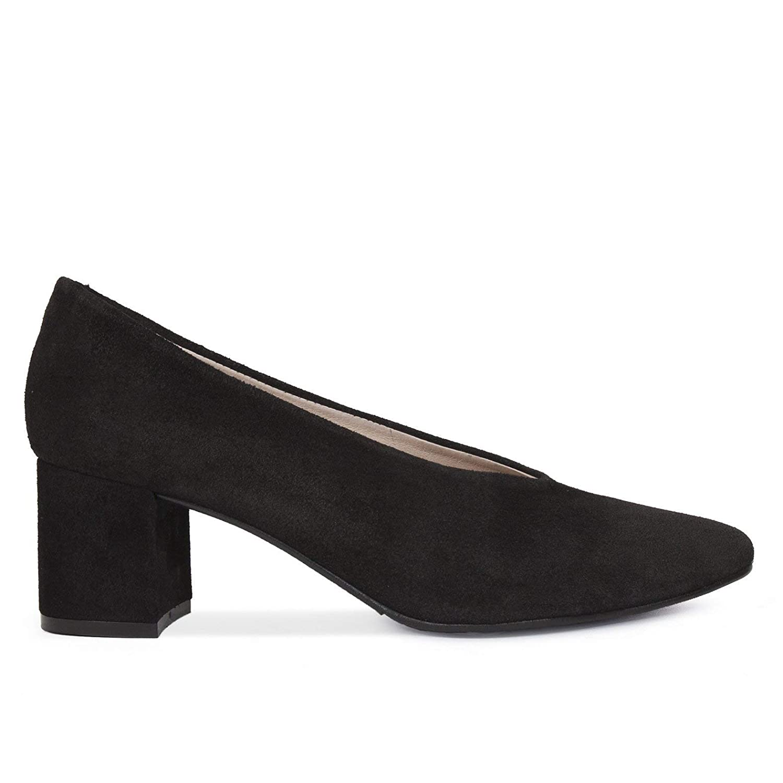 Zapatos Salón. Zapatos Piel Mujer Hechos EN ESPAÑA. Zapatos Tacón Negro. Zapato Mimao. Zapatos Mujer Tacón. Zapatos Mujer Fiesta. Zapato Cómodo Mujer con Plantilla Confort Gel