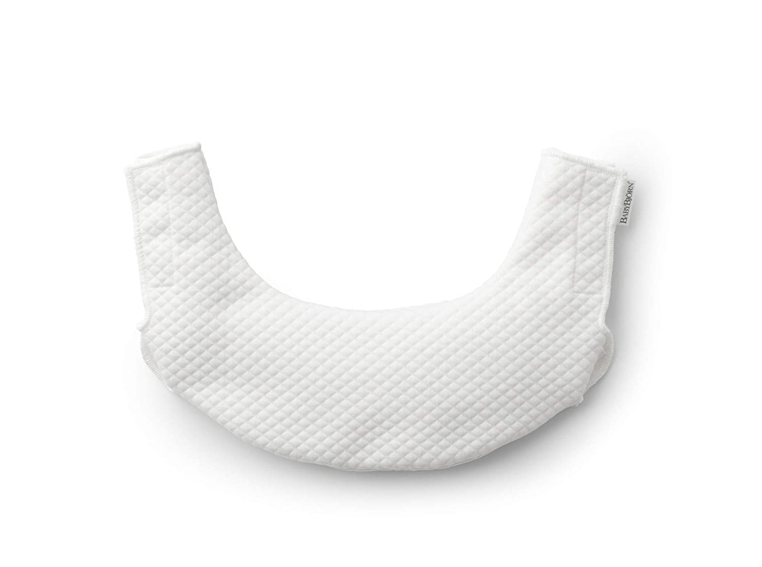 BABYBJÖ RN Teething Bib for Baby Carrier One, White Baby Bjorn 030121