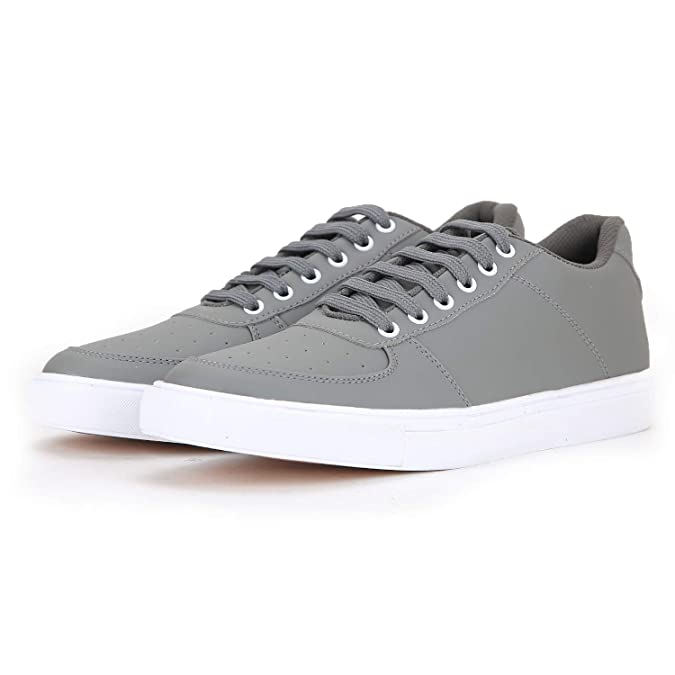 Red Rose Casual Sneakers Shoe's for Men's. (6, Gray)