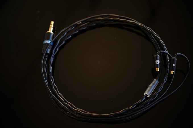 Canción de audio Night Stalker Shure actualización Cable de repuesto para UE900, SE535, SE846 SE215, SE315 SE215: Amazon.es: Electrónica