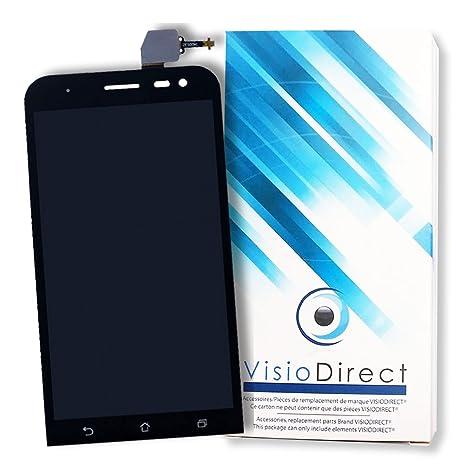 Ecran Complet Pour Asus Zenfone 2 Laser ZE550KL Noir Vitre Tactile LCD