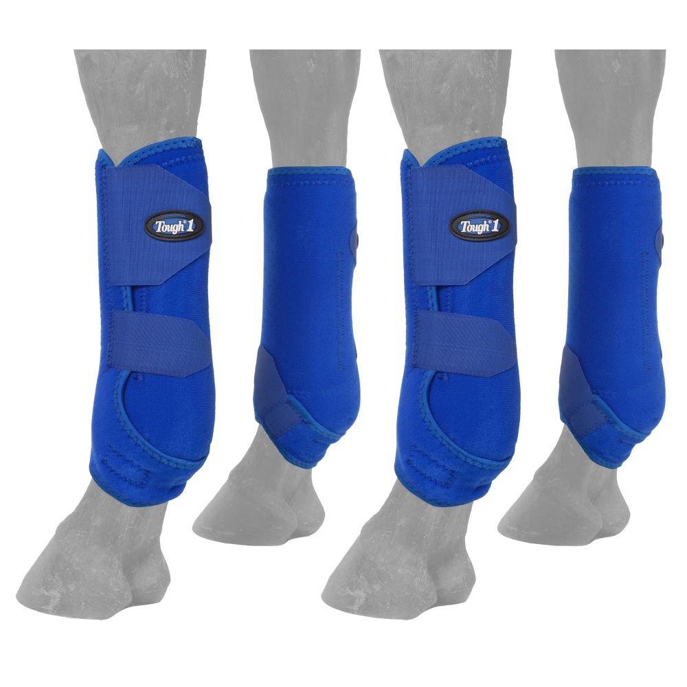 Tough 1 Extreme Vented Sport Boots Set, Royal Blue, Medium by Tough 1