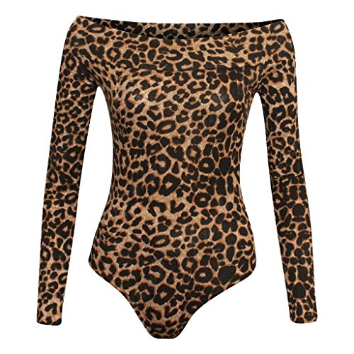 Fashion & Freedom - Camisas - para mujer Brown Leopard