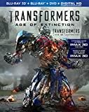 Transformers: Age of Extinction [Blu-ray 3D + Blu-ray + DVD + Digital HD]