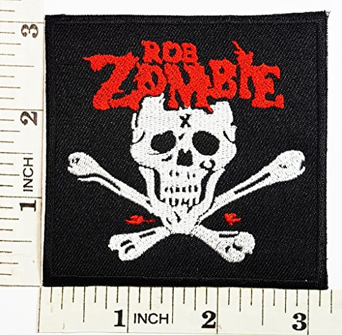 Rock N Roll Zombie Costume (ROB ZOMBIE Punk Rock Heavy Metal Music Band patch Jacket T-shirt Patch Sew Iron on Embroidered Sign Badge Costume)