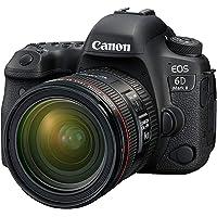 Canon EOS 6D Mark II 24-70mm 4L Fotoğraf Makinesi, Full HD (1080p), Siyah, 2 Yıl Canon Eurasia Garantili