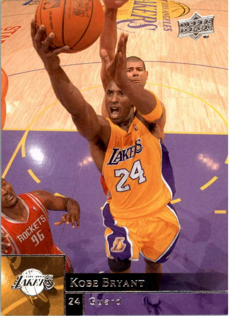Kobe Bryant 2009 2010 Upper Deck Basketball Series Mint Card #79 Showing This Los Angeles Lakers Star in His Gold Jersey