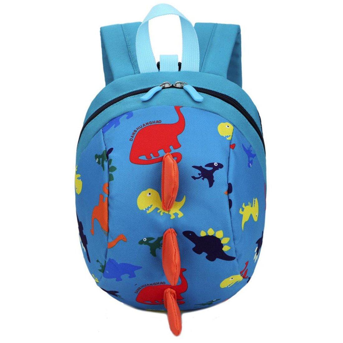 Schultasche Kleinkind Btruely Jungen Mädchen Kinder Dinosaurier Muster Tiere Rucksack Kinder Tasche (Dunkel Blau) Btruely_4034