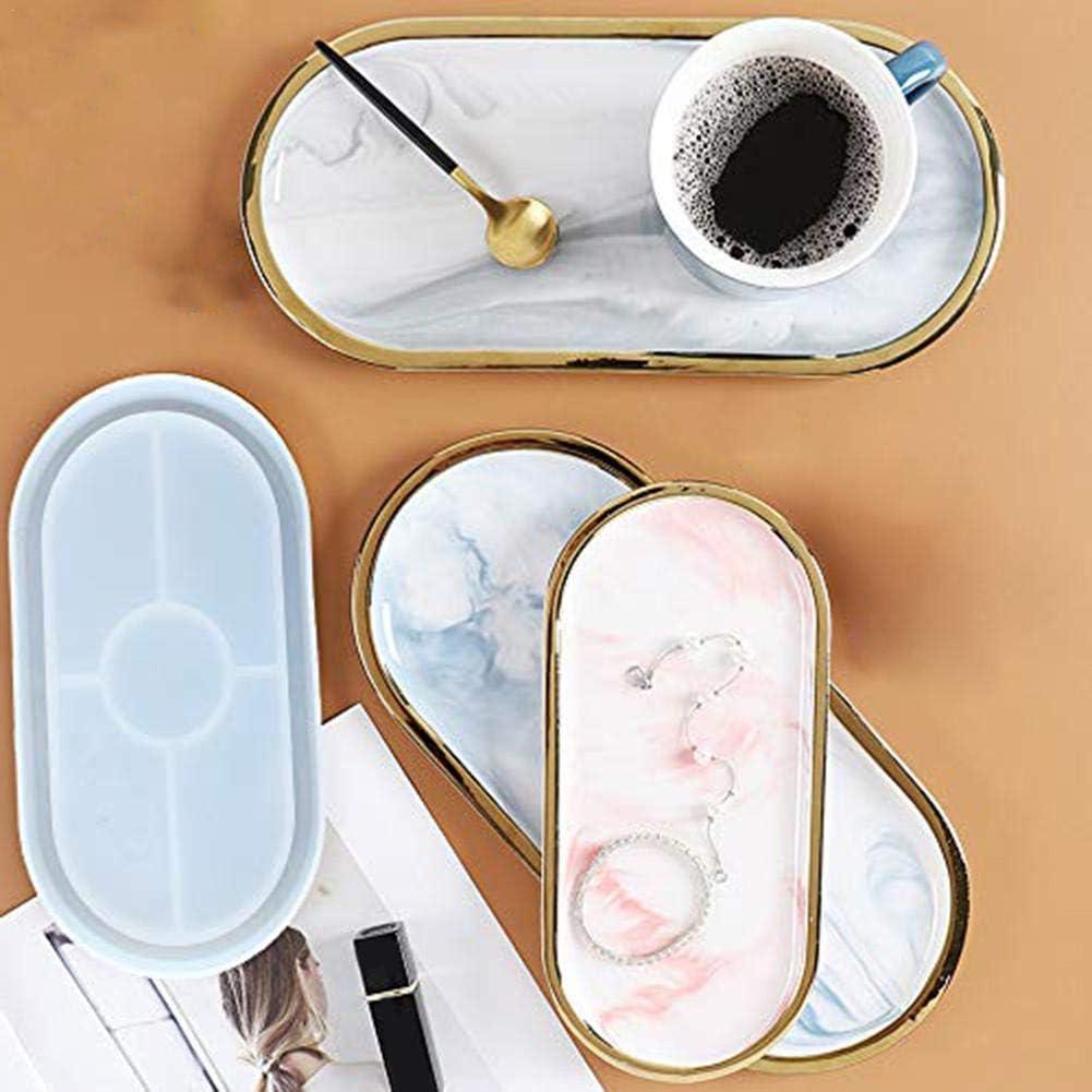 perfecti R/ésine /Époxy Coaster Mold Moule R/ésine Epoxy Moule De sous-Verres Moulle Silicone Coaster Resin Mol pour La Fabrication De Bijoux Coasters DIY Artisanat