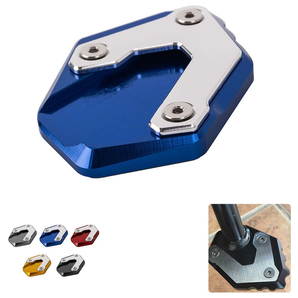 Not for R1200GS Adventure LC New Motorcycle Accessories motorbike Side Stand Enlarger Kickstand Extension Plate for BMW R1200GS LC 2013-2018 Gold