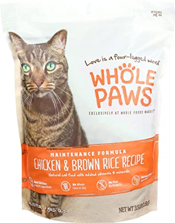 Amazon whole paws adult maintenance cat food formula chicken whole paws adult maintenance cat food formula chicken brown rice 35 lb forumfinder Image collections