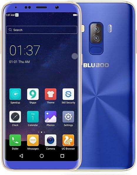 Gaddrt Bluboo S8 Android 7.0 Smartphone 4 GB + 32 GB Teléfono Celular con Doble cámara teléfonos móviles de – 5.7 Inch, Azul: Amazon.es: Deportes y aire libre