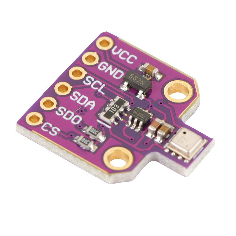 BME680 Sensor,CJMCU-680 BME680 Temperature Humidity Sensor Ultra-Small Pressure Height Development Board