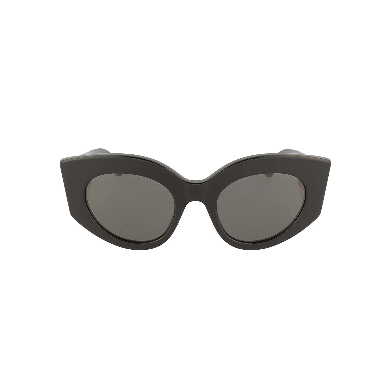 f9252a6d4e1 Amazon.com  Gucci GG0275S 001 Black GG0275S Oval Sunglasses Lens Category 3  Size 50mm  Gucci  Clothing