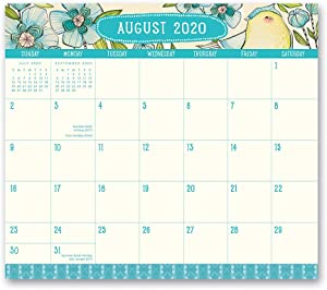 2020-2021 Where Love Grows Magnetic Monthly Pad from Orange Circle Studio