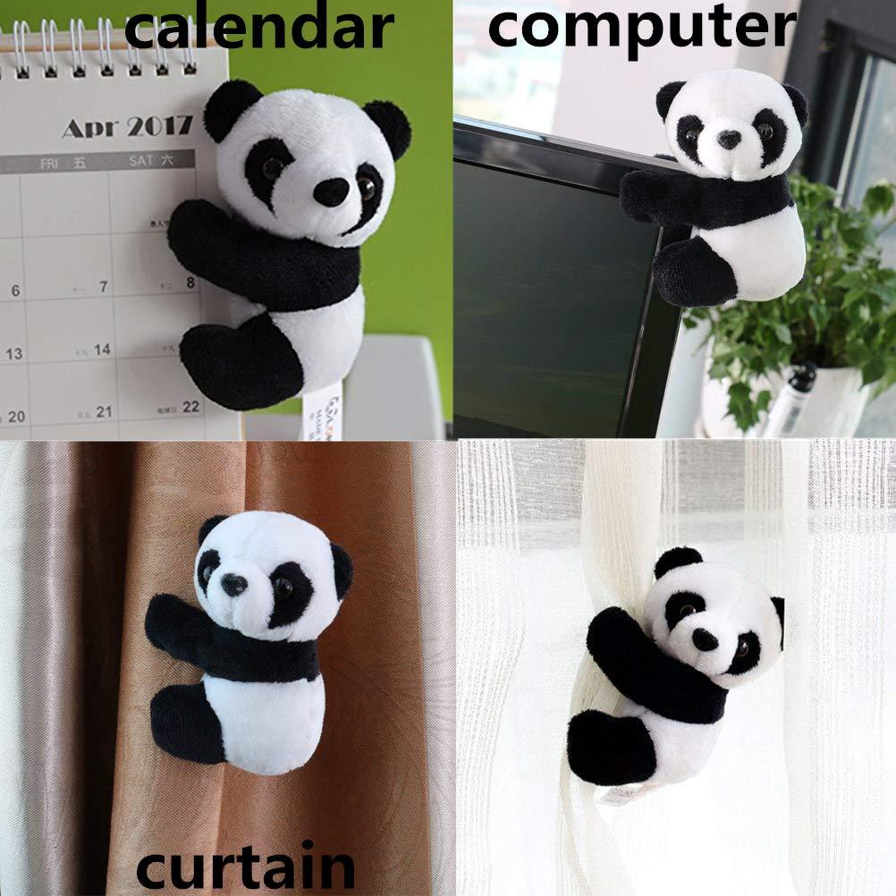 Toys & Hobbies Small Stuffed Animal Toy Curtain Clip Bookmark Notes Souvenir Toys Creative Kids Children Plush Panda Clip