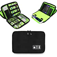 Electronics Accessories Organizer Bag,Portable Tech Gear Phone Accessories Storage Carrying Travel Case Bag, Headphone…