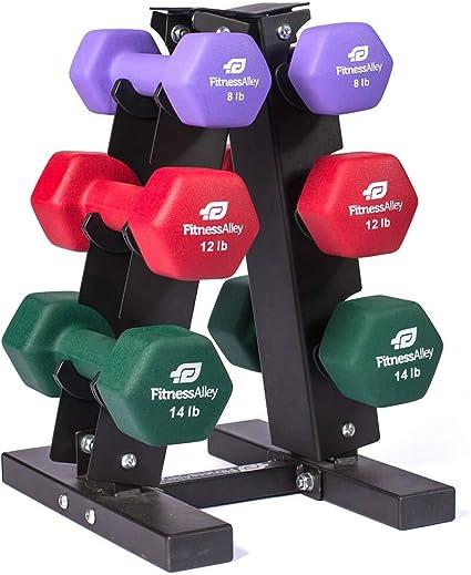 Dumbbell Weights Fitness Exercise Strength Gym Training Dumbbells Neoprene 4 Lbs