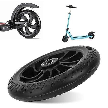 Ersatz Hinterrad für Kugoo S1 Elektroroller Outdoor Zubehör Kunststoff Schwarz