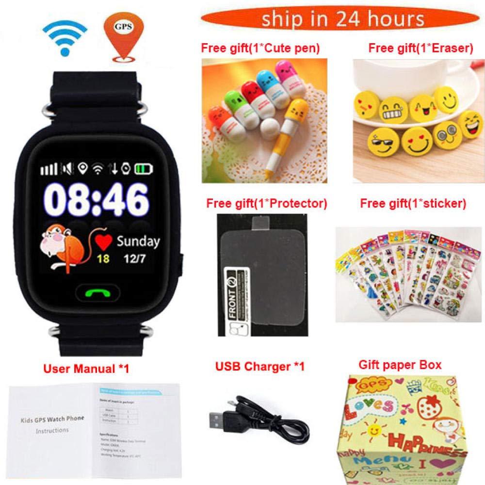 Relojes Inteligentes Gps Q90 Wifi Posicionamiento Smart ...