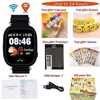 Relojes Inteligentes Gps Q90 Wifi Posicionamiento Inteligente ...