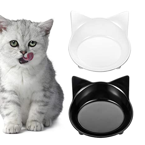 2 cuencos antideslizantes para gato, comida para mascotas y ...