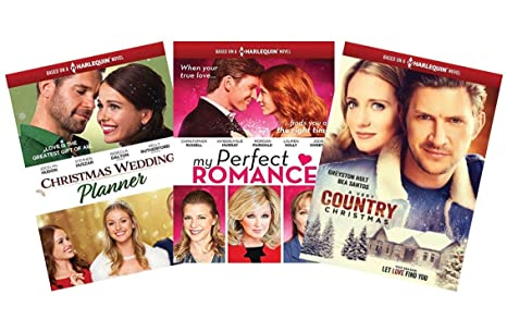 Ultimate Harlequin Novel 3 Movie Dvd Collection Christmas Wedding
