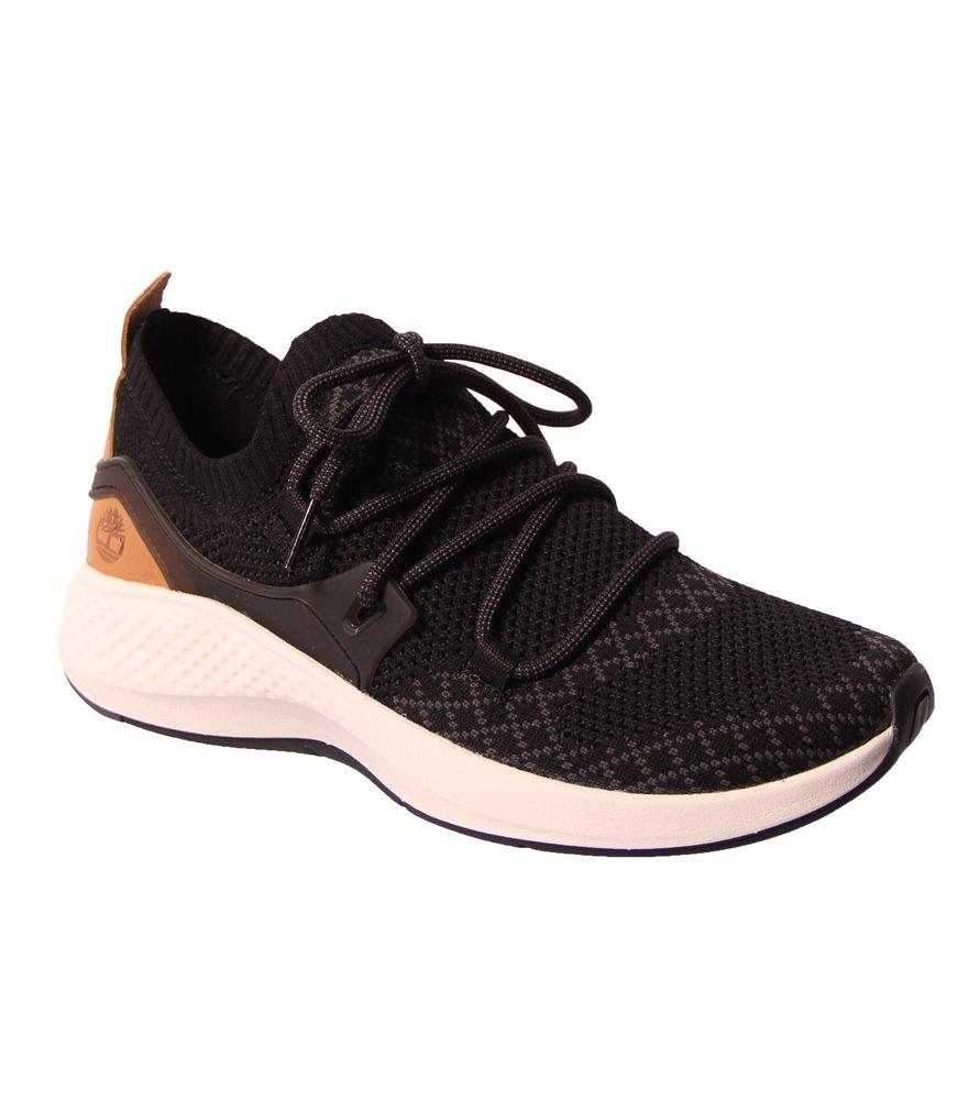 Timberland Womens FlyRoam Go Knit Chukka Black Sneaker - 9