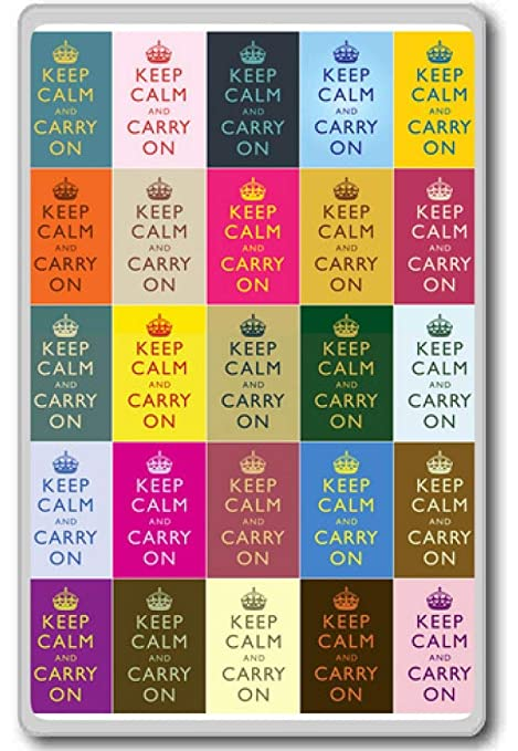Amazon.com: Keep calm and carry on (collage) - Motivational ...