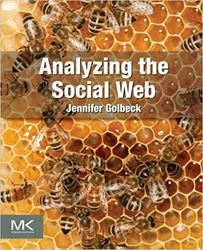 Book Analyzing the Social Web March 12, 2013