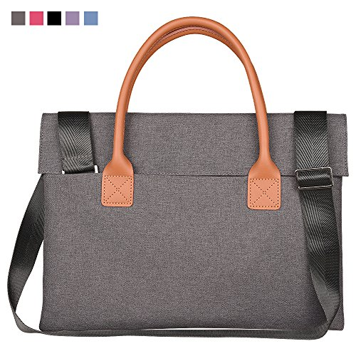 Qishare 17inch 17.3 inch Universal Unisex Fashion Portable Oxford Fabric Laptop Carrying Case/ Briefcase for 17 - 17.3 Inch Lenovo/ Hp / Asus/ Toshiba/ Dell/ Acer (17